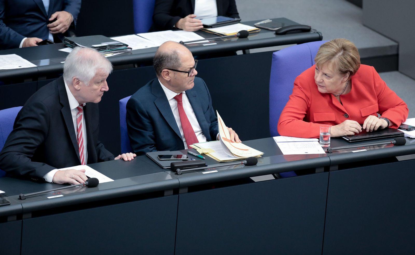 Bundestag/ Stillstand