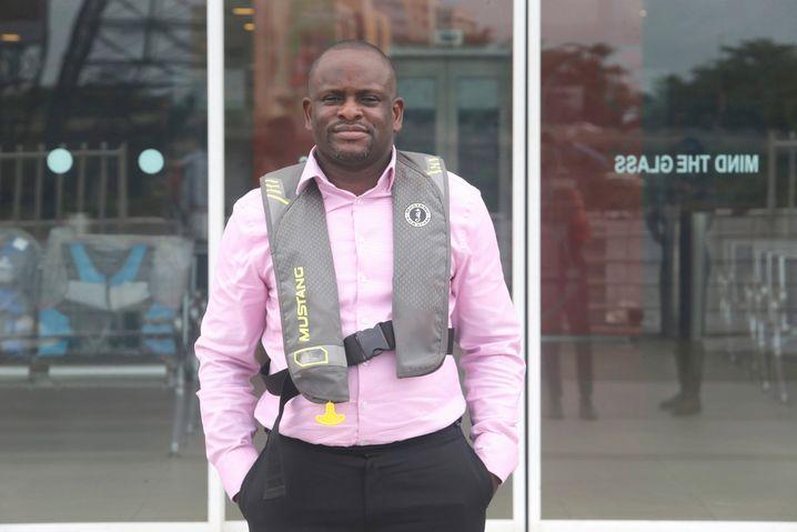 Oluwadamilola Emmanuel manages Lagos' extensive network of ferries.