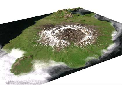 Vulkan Okmok: Aktive Aleuten