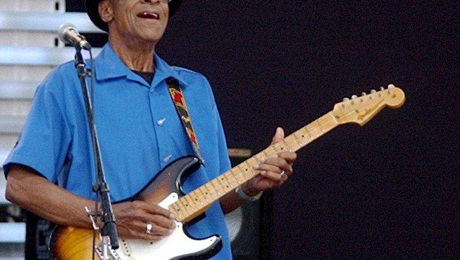 """Gitarrist Sumlin 2007: """"Ein Gentleman ersten Ranges"""" nannte ihn Keith Richards"""