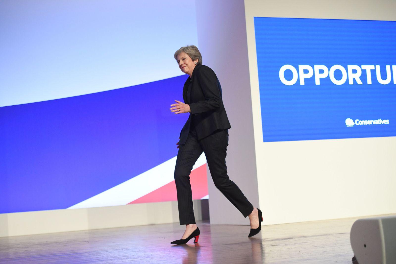 Parteitag der Konservativen in Großbritannien