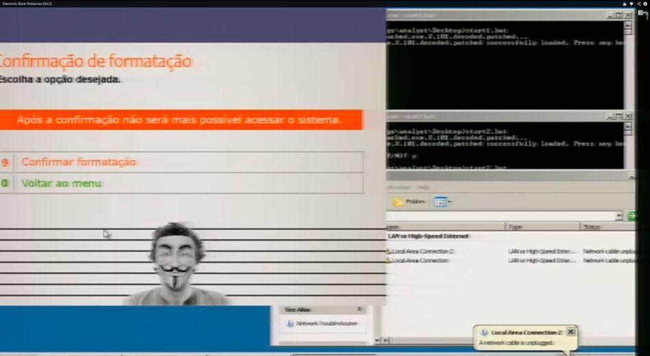 Geldraub-Software: Mit diesem Programm manipulierten Kriminelle XP-Geldautomaten