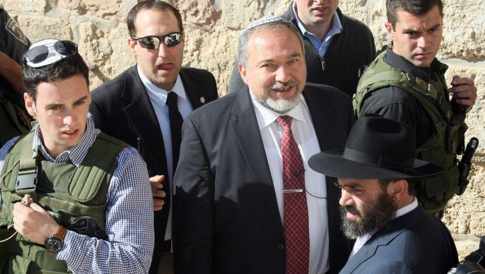 """Israels Außenminister Lieberman: """"Miserable Entscheidung"""""""