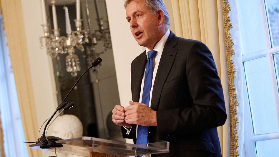Der britische Botschafter in den USA, Kim Darroch. Die Aufnahme stammt aus dem Jahr 2017
