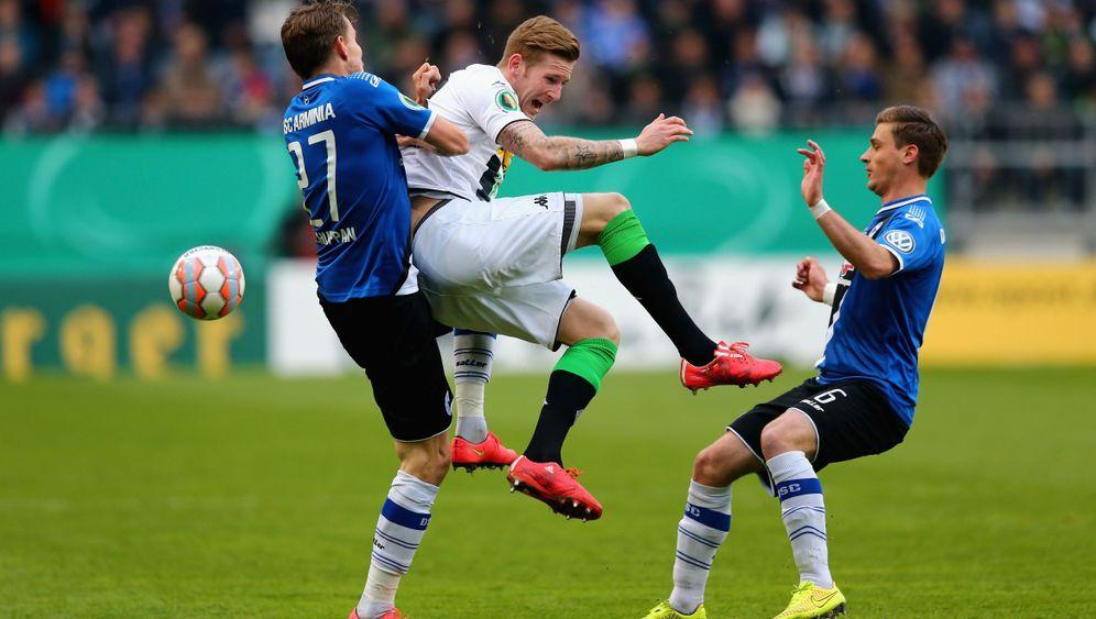 Triumph im Elfmeterschießen: Bielefeld schlägt die Borussia