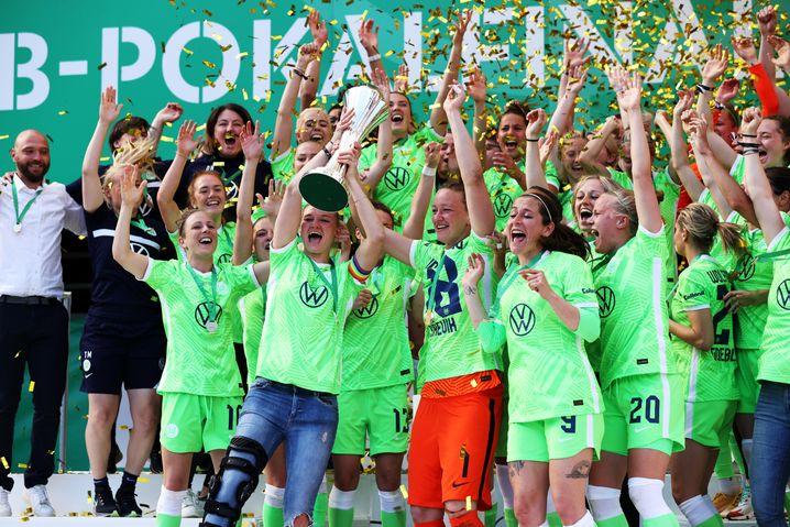 Wolfsburg ist zum achten Mal DFB-Pokalsieger