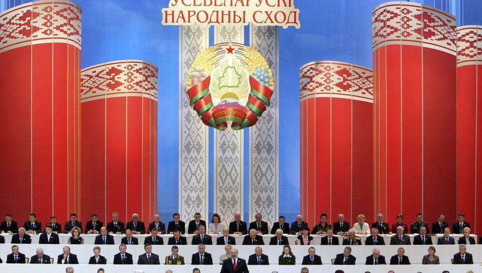 Weißrussland: Alexander Lukaschenko regiert die frühere Sowjetrepublik mit harter Hand