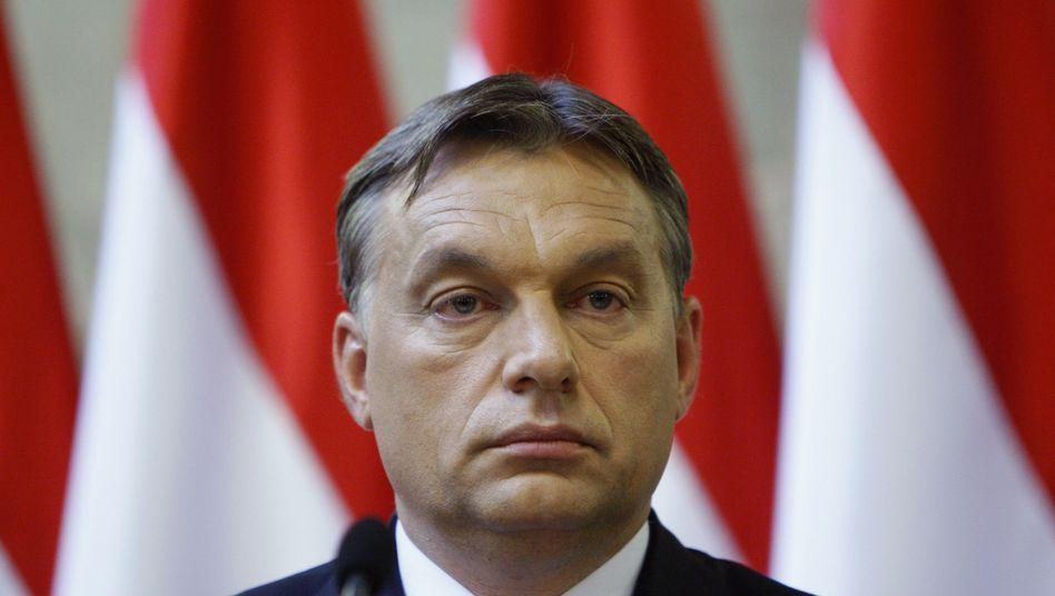 """Ungarns Regierungschef Orbán: Meinungsfreiheit vs. """"Würde der ungarischen Nation"""""""