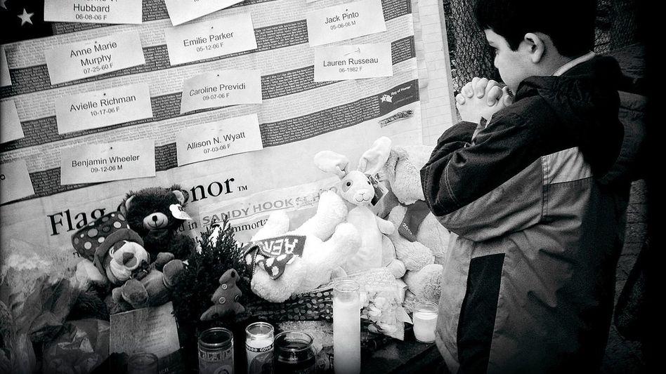 Gedenken an die Opfer von Newtown
