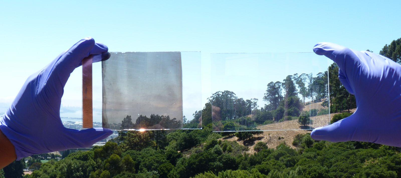 EINMALIGE VERWENDUNG Stromschaltbares undurchsichtiges Fensterglas EMBARGO 13. AUGUST 19 UHR!