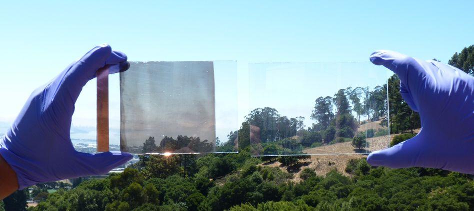Sicht durch schaltbares Glas: Infrarotes Licht blockieren