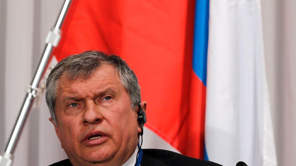 """Rosneft-Chef Setschin: """"Gott sieht alles und richtet alles"""""""
