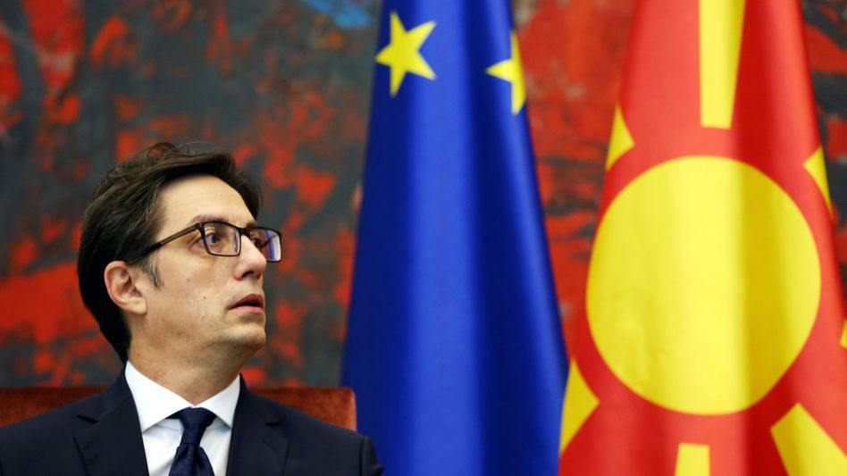 Nordmazedoniens Präsident Stevo Pendarovski