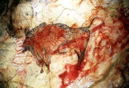 Wandmalerei in der Altamira-Höhle: Verdächtige Mikroben