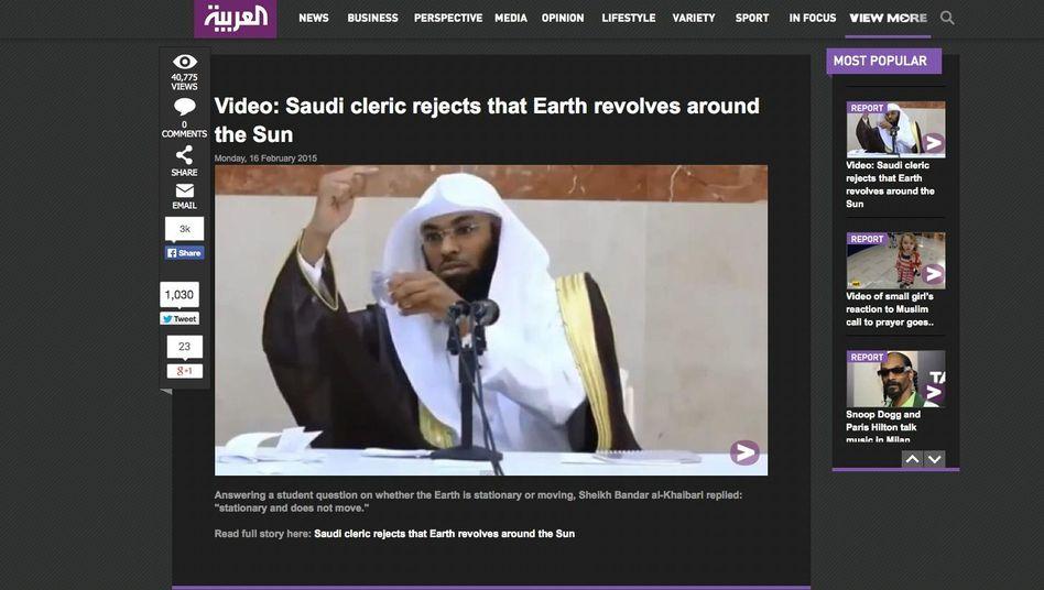 "Prediger Bandar al-Khaibari: ""Sie steht still"""