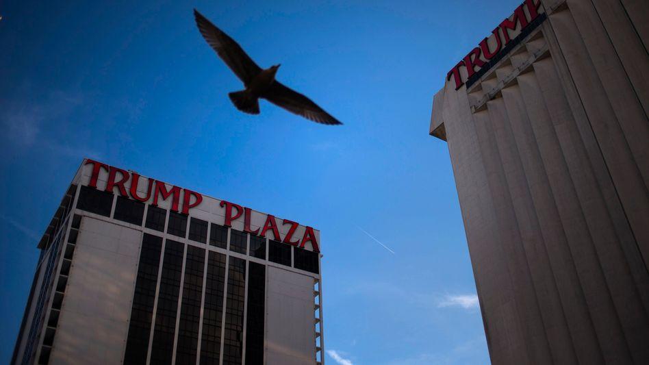 Trump-Plaza in Atlantic City