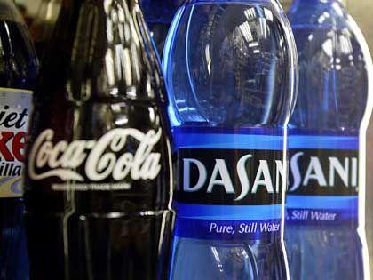 Dasani- und Coca-Cola-Flaschen: Schlichtes Leitungswasser aus Sidcup