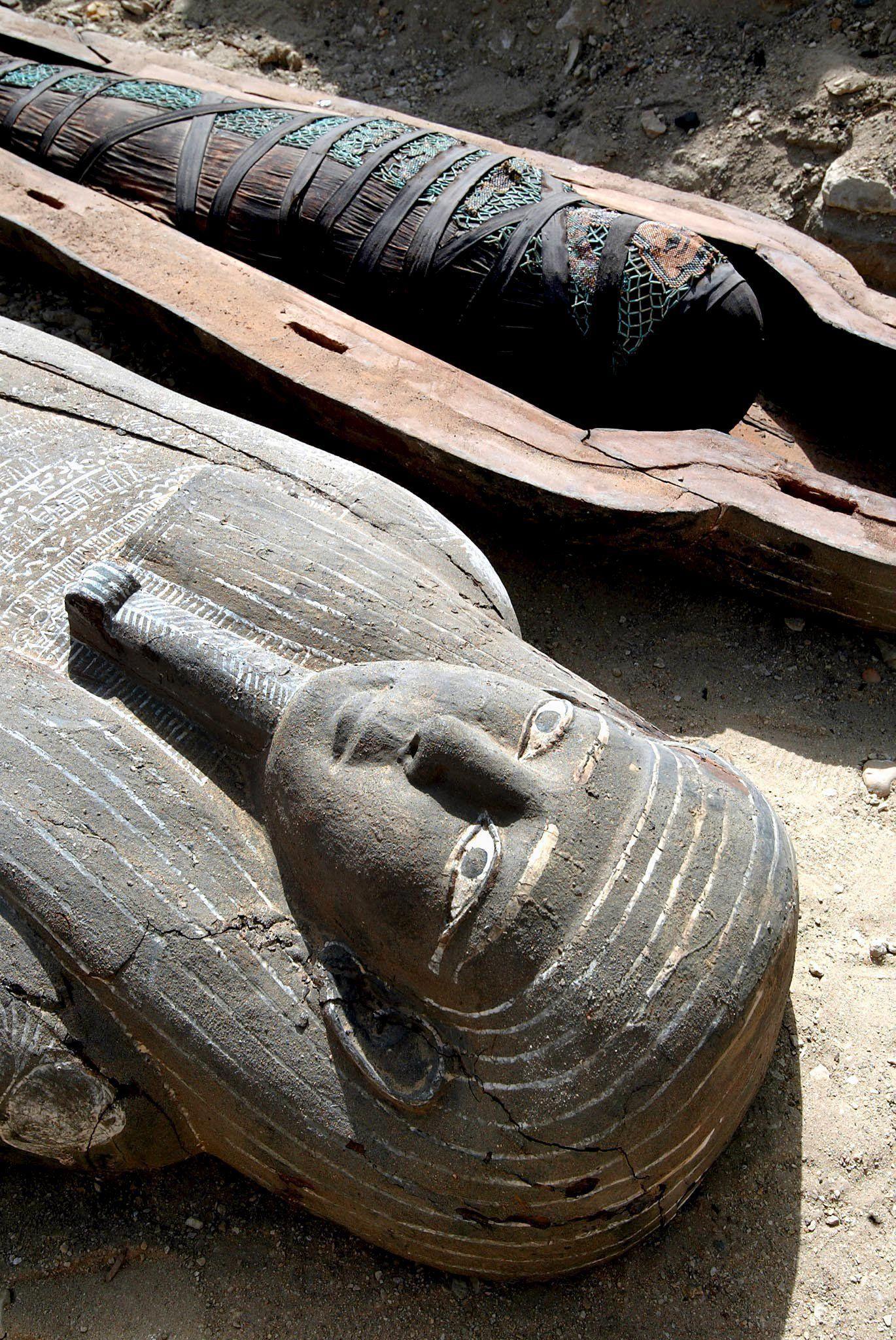 Mumienfunde bei Sakkara
