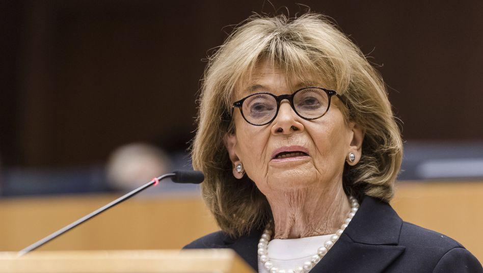 Charlotte Knobloch während einer Holocaust-Gedenkveranstaltung im Europäischen Parlament