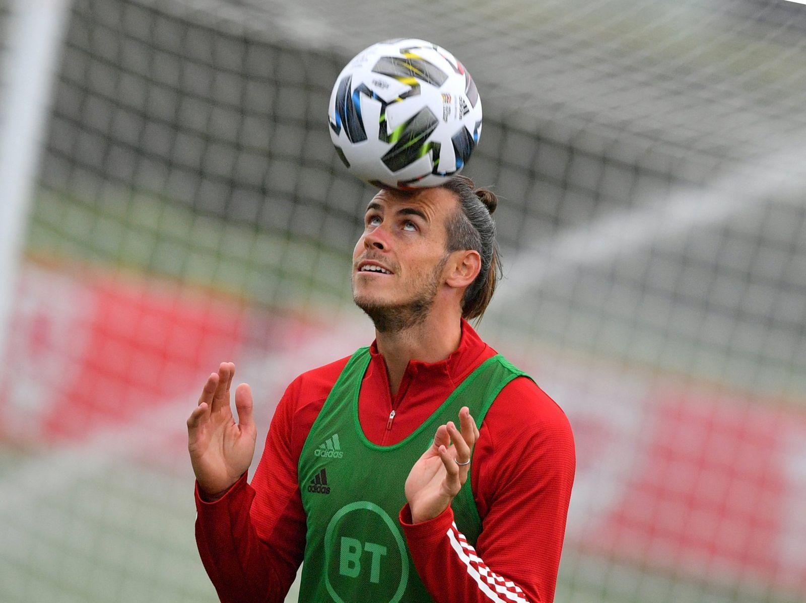 Gareth Bale in London gelandet