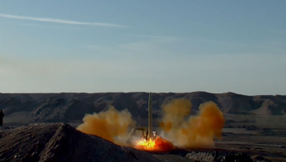 Iranischer Raketentest von 2016