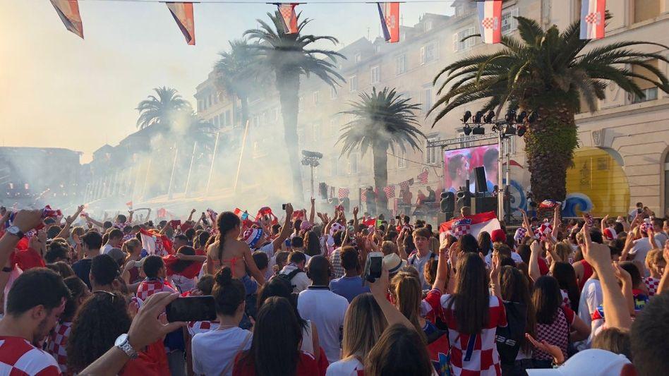 WM-Party in Split