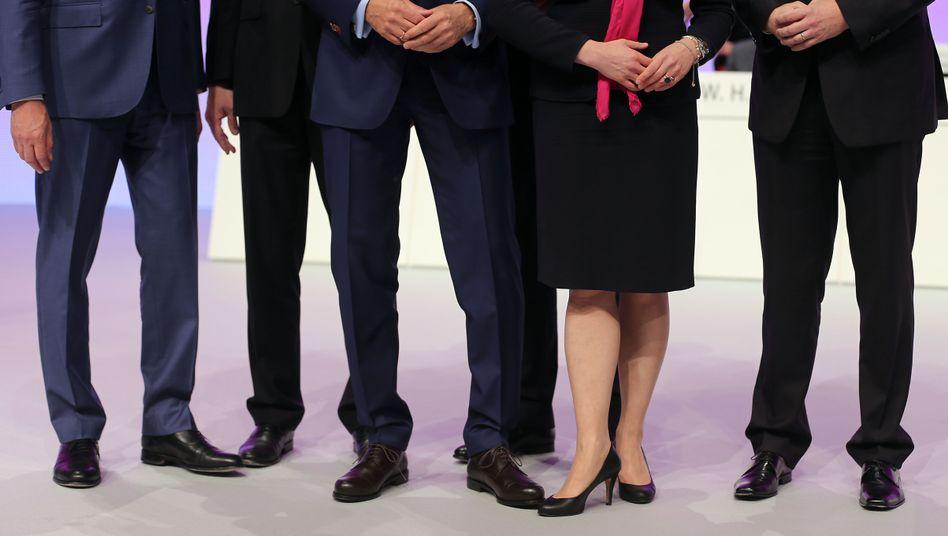 Seltene Erscheinung: Frauen im Vorstand