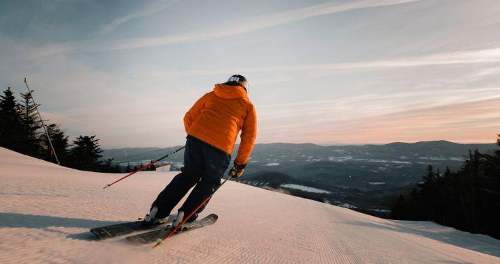 Skifahrer in Vermont: Erst zum Shoppen in Manhattan, dann zum Wedeln nach Stowe