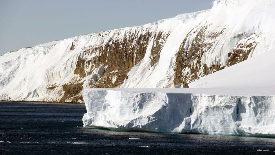 Antarktische Küste (2006): Temperaturanstieg in der Tiefsee