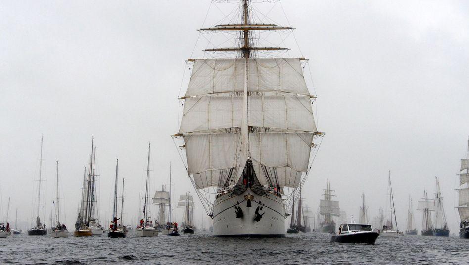 """""""Gorch Fock"""": Vor sechs Jahren starb eine Kadettin auf dem Segelschulschiff"""