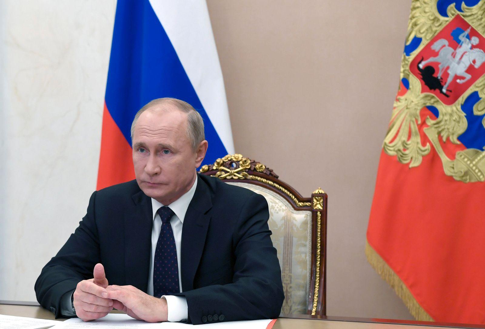 Putins große Pressekonferenz erstmals nur per Video