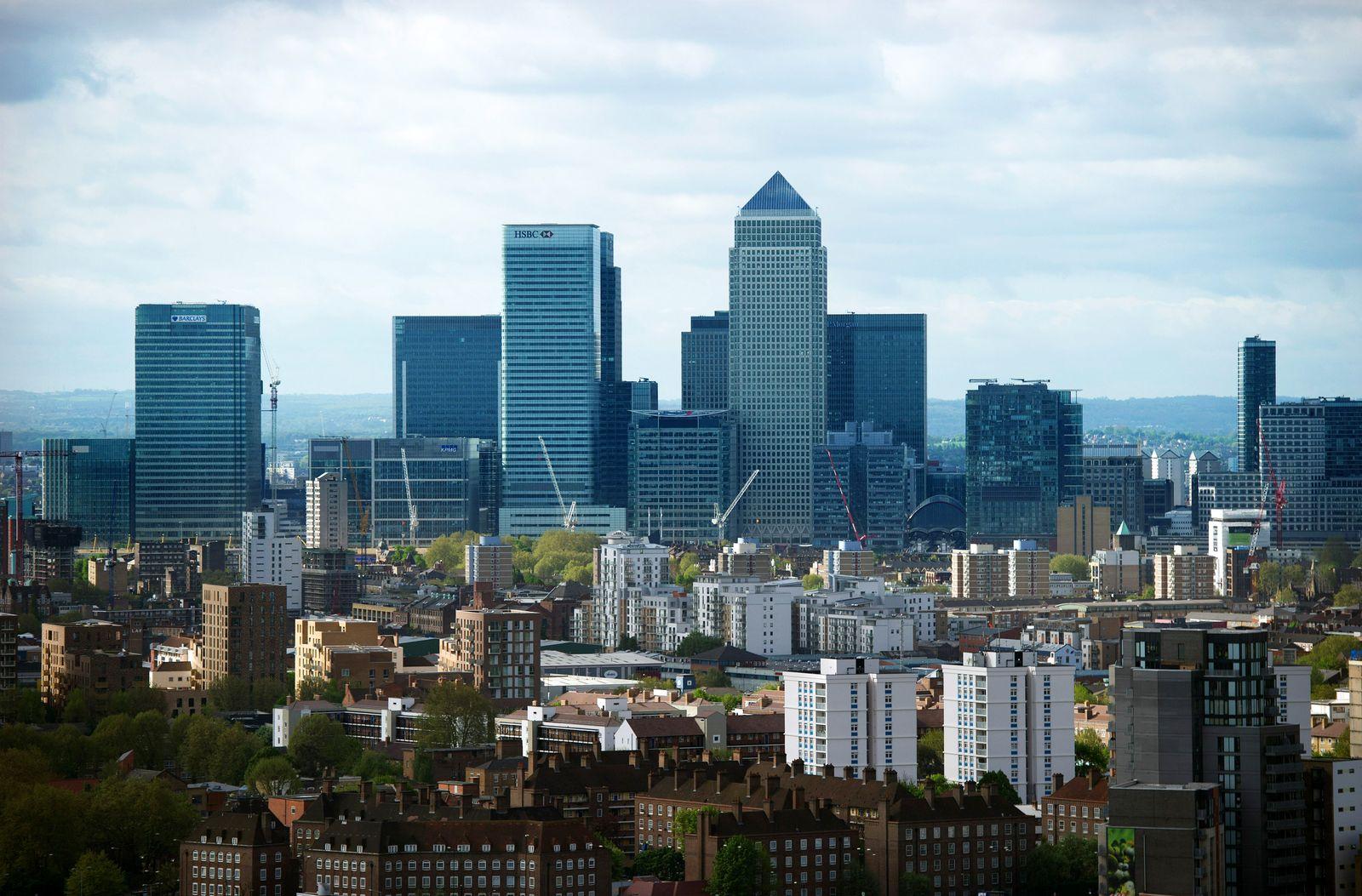 London / Banken / Banken-Viertel / EU