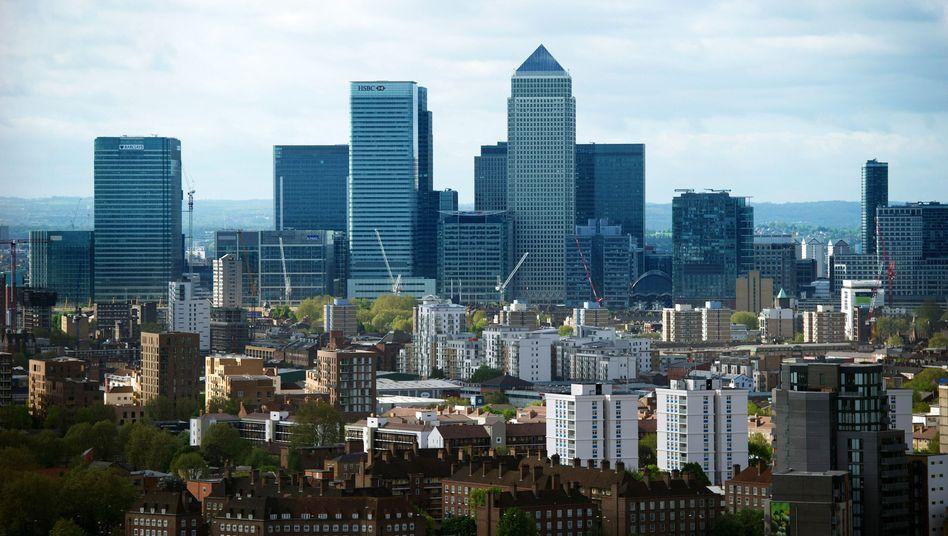 Londoner Finanzviertel Canary Wharf: Viele Vorwürfe gegen Banken