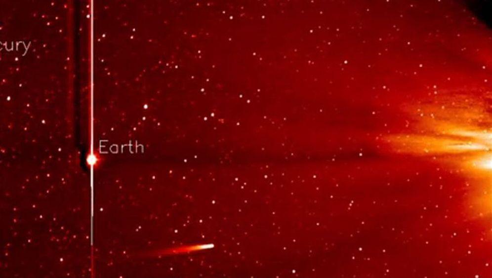 Stunden der Entscheidung: Komet Ison erreicht sonnennächsten Punkt