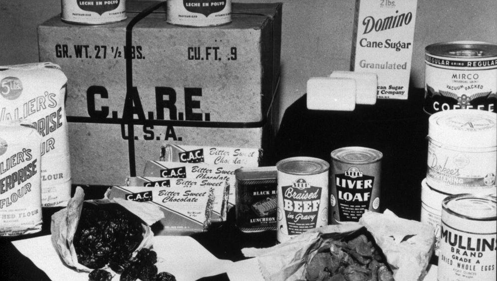 Kalenderblatt 16.8.1946: Als die Care-Pakete kamen