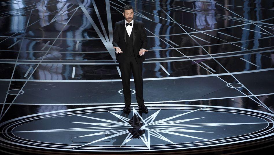 Moderator Jimmy Kimmel