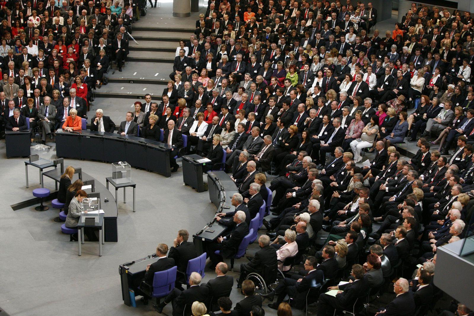 Bundespräsident / Wahl / Bundesversammlung 2009