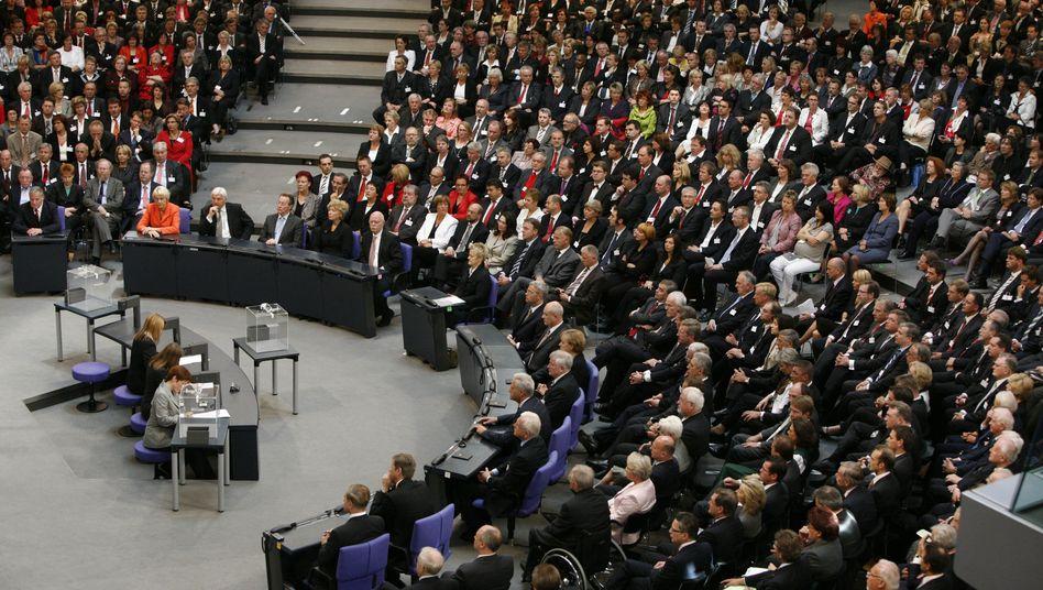 Bundesversammlung 2009: Wahl des Bundespräsidenten als einzige Aufgabe
