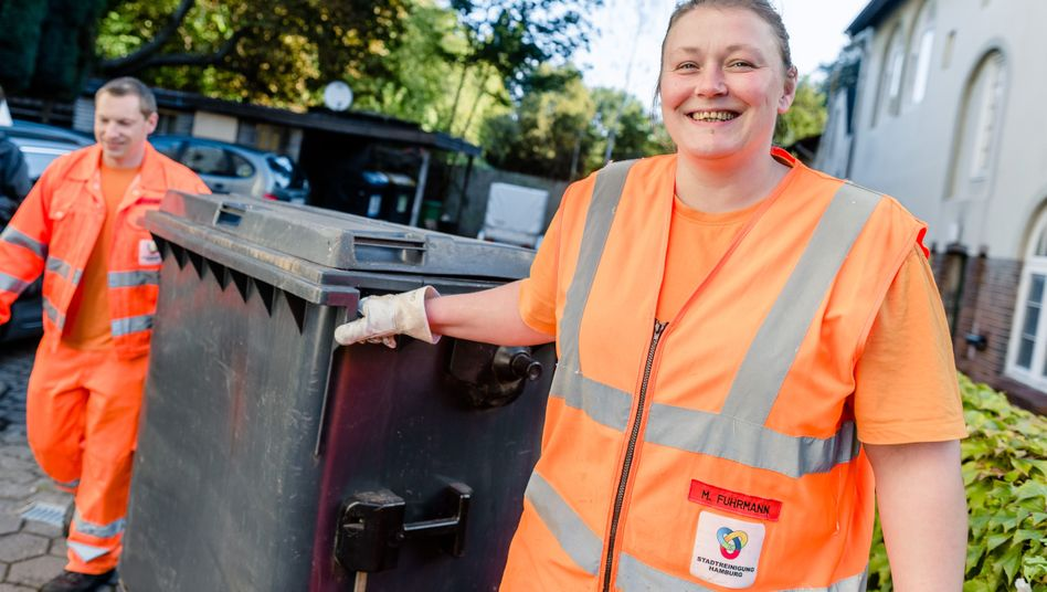 Michaela Fuhrmann: Hamburgs erste Müllentladerin
