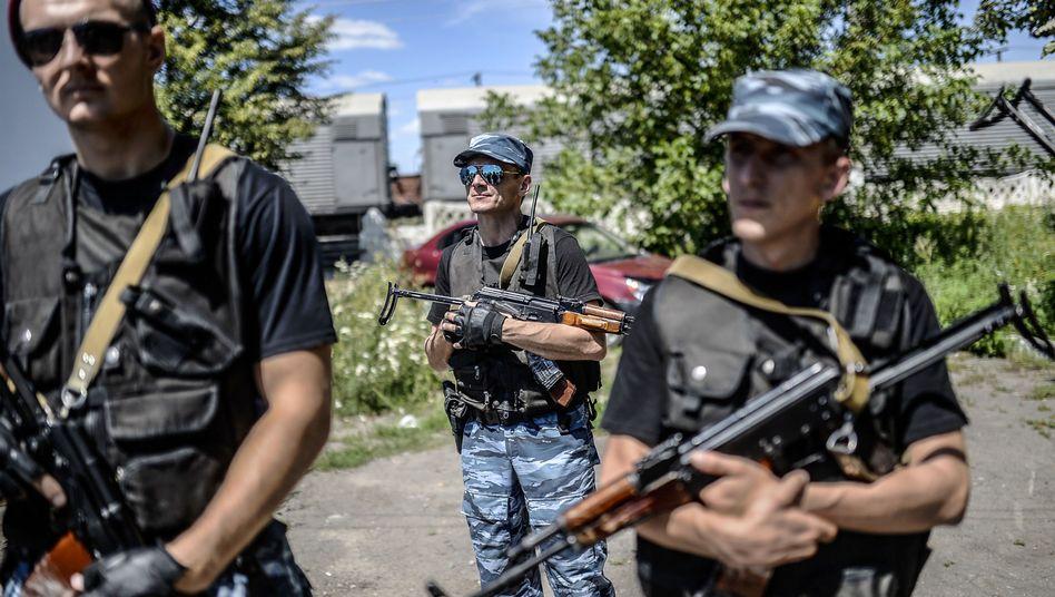 """Separatisten in Tores, Ostukraine: Russland """"unter sehr starkem Druck"""""""