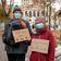 »Querdenker« und Gegendemonstranten versammeln sich trotz Verbot