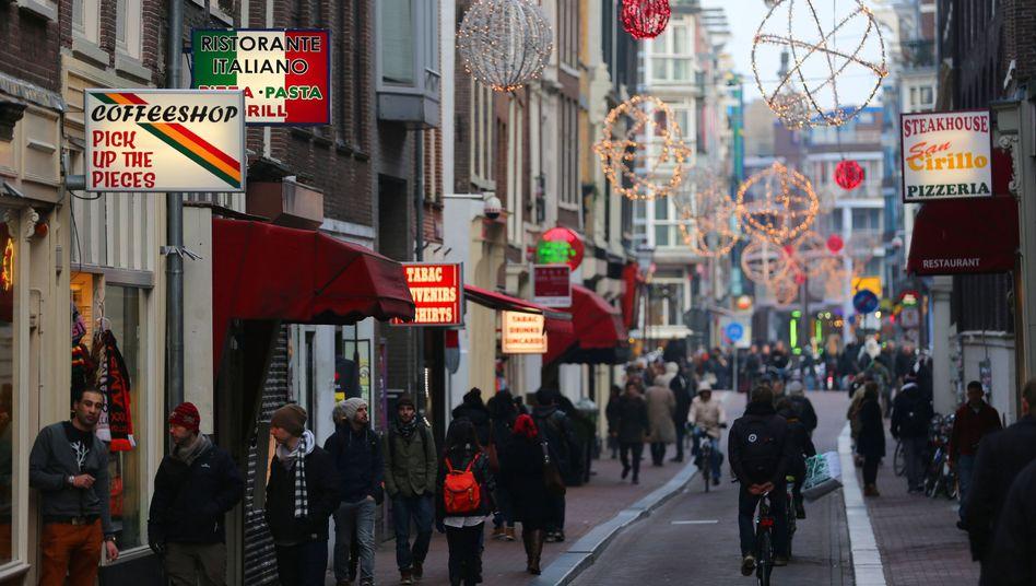 Amsterdams Rotlichtviertel: Die Hälfte der 78 Coffeeshops soll geschlossen werden