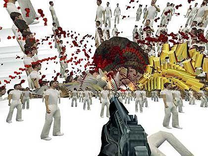 """Adam Killer"": Blutige Zerrbilder"