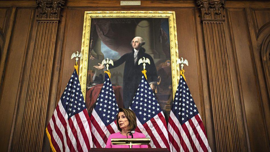 Abgeordnete Pelosi: Die Demokraten können dem Präsidenten und dessen Verbündeten nun empfindlich schaden