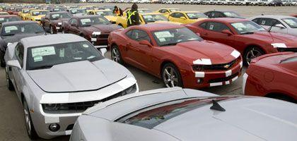 Wagen der GM-Marke Chevrolet: Neues Angebot an die Gläubiger