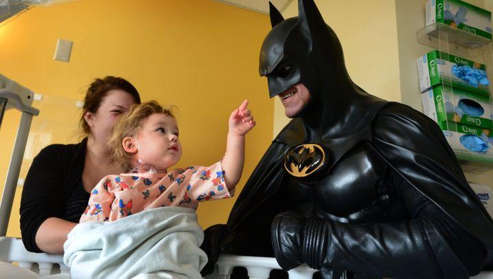 Batman-Imitator: Ein Superheld für Kinder
