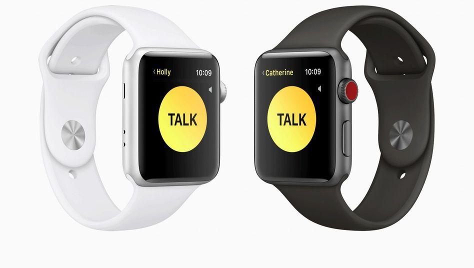 Die Walkie-Talkie-Funktion verwandelt die Apple Watch in Funkgeräte