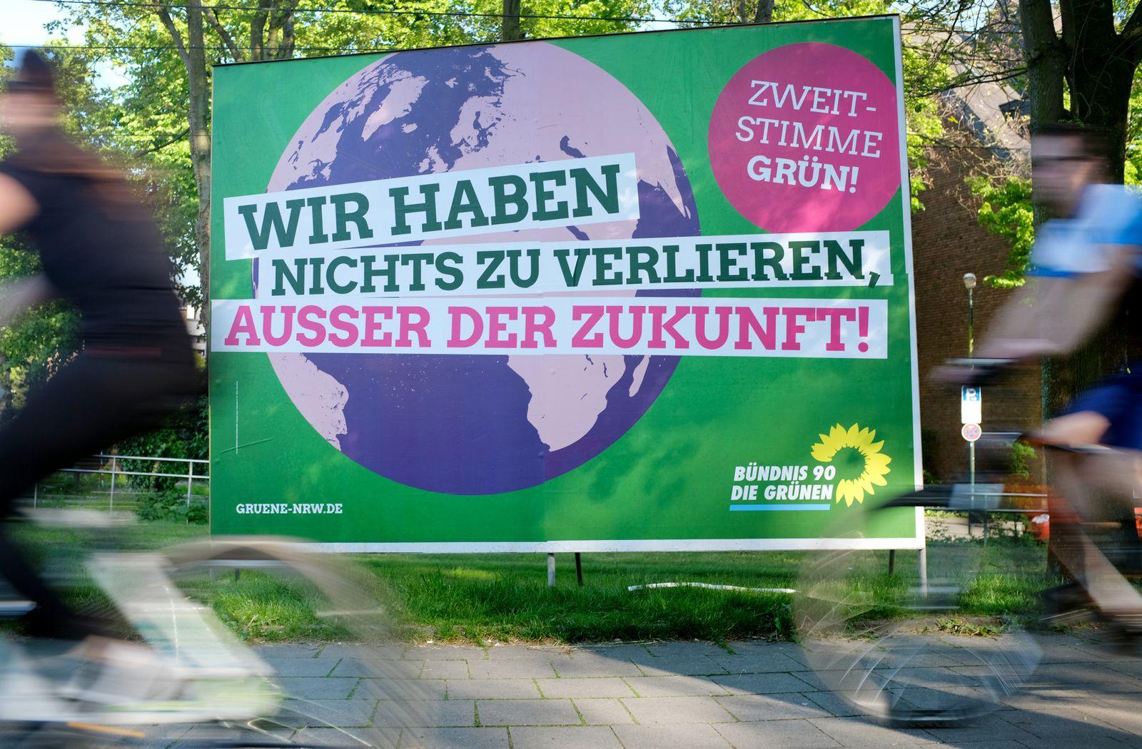Wahlplakat Grünen