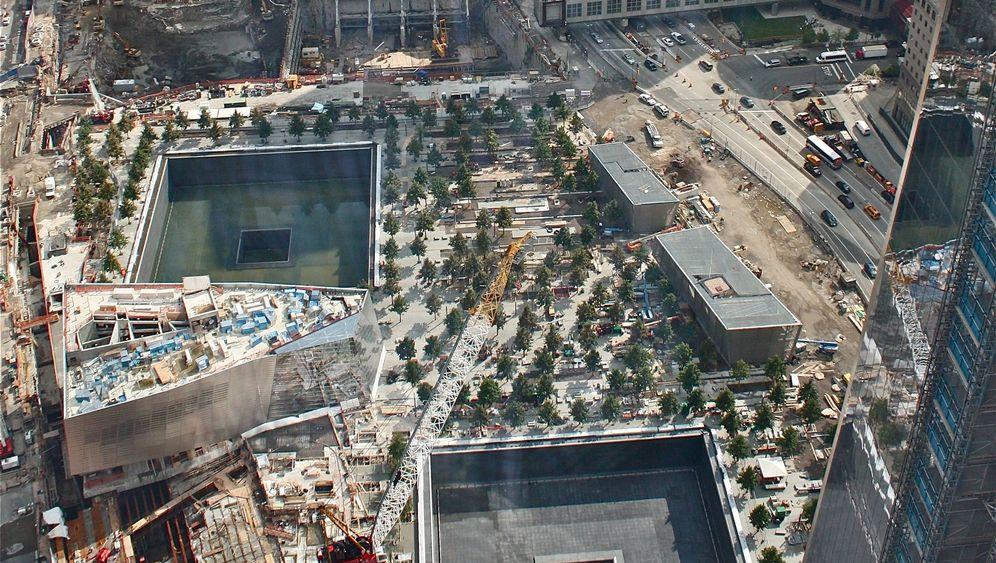 """9/11-Memorial: """"Das ist geheiligter Boden"""""""