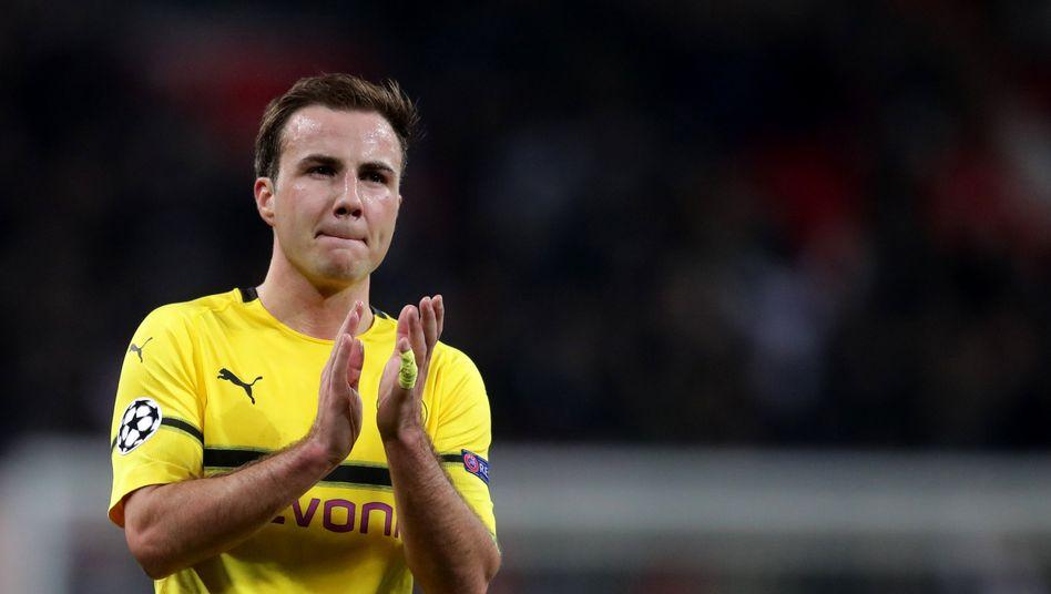 Mario Götze hat Borussia Dortmund zum zweiten Mal verlassen